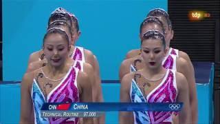 Final Equipo Libre (China) - JJOO Londres 2012