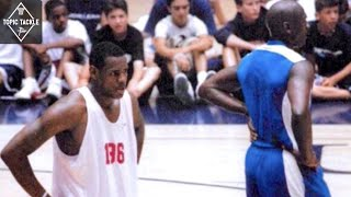 The Untold Story of High School LeBron vs Michael Jordan