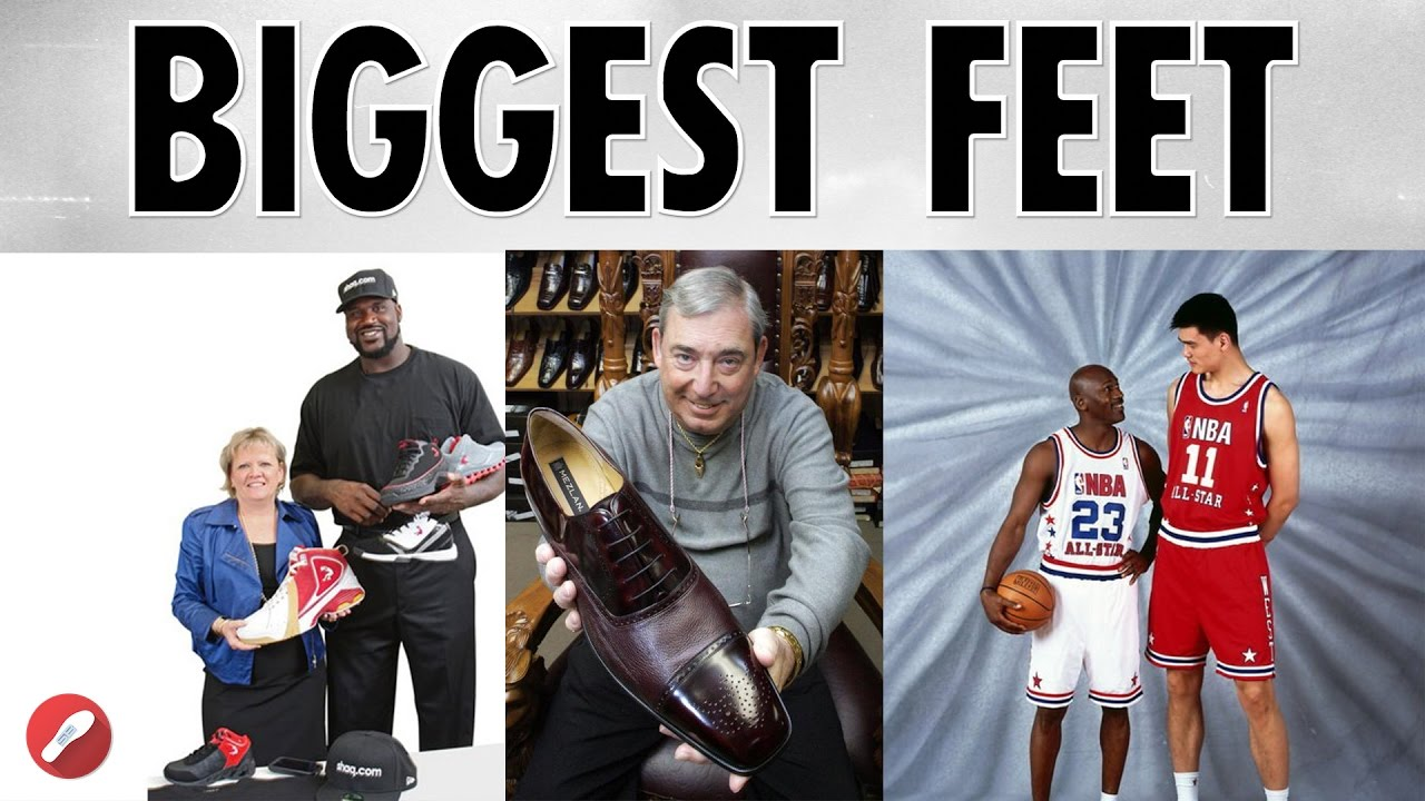 Top Biggest/Smallest Feet in the NBA