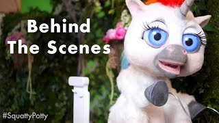 Behind the Scenes - This Unicorn Changed The Way I Poop  #SquattyPotty