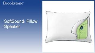 SoftSound® Pillow Speaker