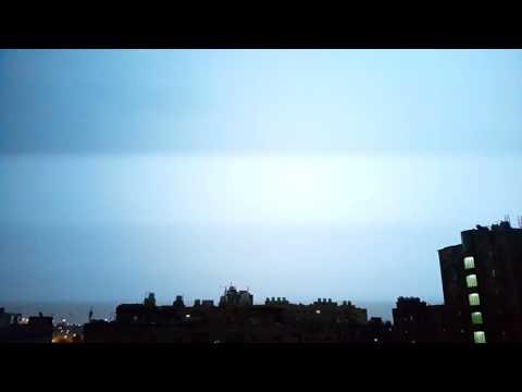Kuwait Rain with Thunder & Lightning 03/12/2016