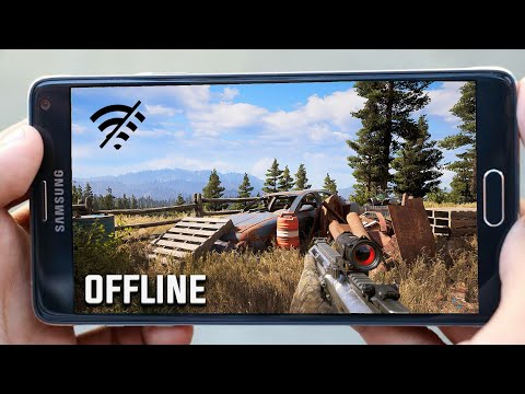 TOP 8 OFFLINE BATTLE ROYALE GAMES FOR ANDROID 2020