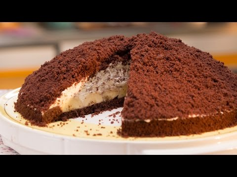 Maulwurfkuchen mit oder ohne Banane - Einfach lecker backen