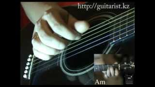 Перебор P-I-MA-I (4-ка) (Уроки игры на гитаре Guitarist.kz)