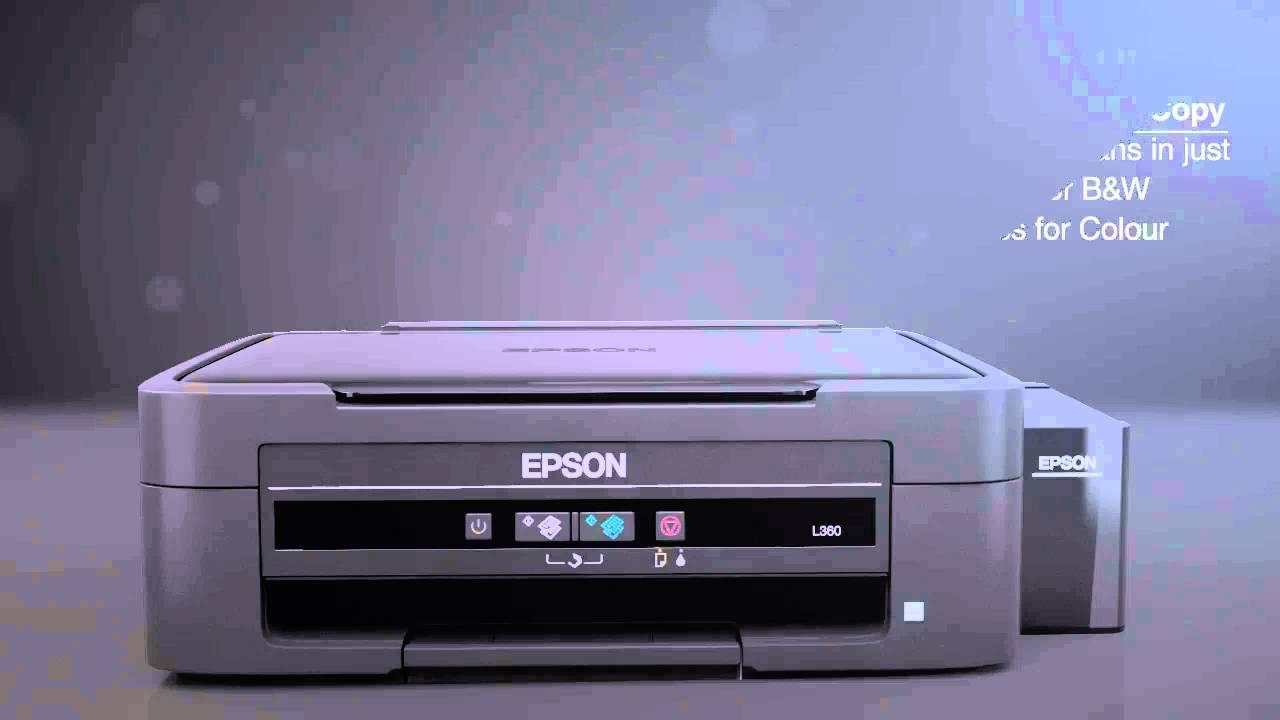 Epson L360 Inkjet Printer Ink Tank Printer Print, Copy And Scan