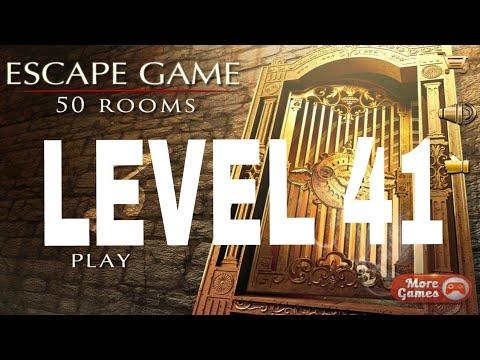 Escape Game 50 Rooms 3 Level 41 Walkthrough Youtube