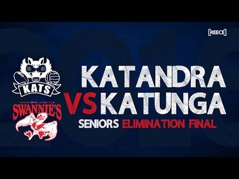 Elimination Final: Katandra v Katunga - Seniors