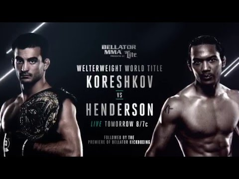 Bellator 153: Koreshkov vs. Henderson Weigh Ins