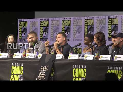 USA: Andrew Lincoln confirms 'The Walking Dead' exit at ComicCon