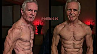 68 Year Old Bodybuilder!!The Most Shredded Grandpa in The World - Bill Hendricks