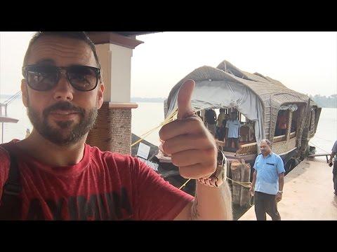 Travel Vlog | Trivandrum India | Mike De Camp | Houseboat