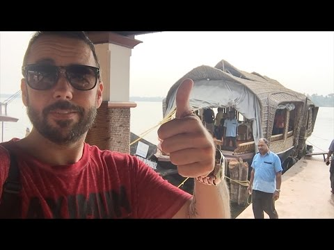 Travel Vlog | Trivandrum India | Mike De Camp | Houseboat
