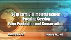 FPAC Farm Bill Listening Session
