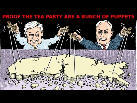 Confirmed: Tea Party a Product of Big Tobacco and Koch Brothers