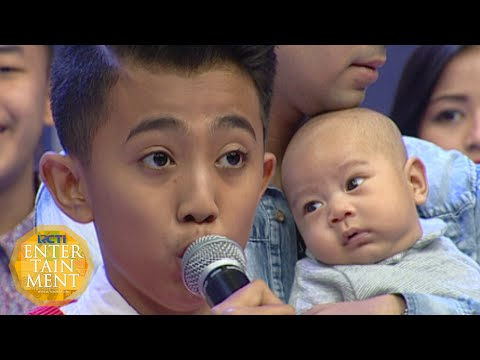 Rian Idol Jr Nyanyi Di Temani Rafathar 'You Raise Me Up' [Dahsyat] [17 Okt 2015]