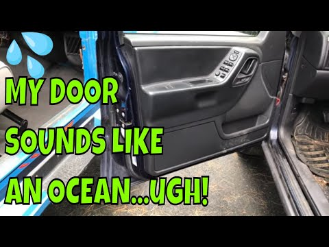 How To Drain Water Out of a Car Door