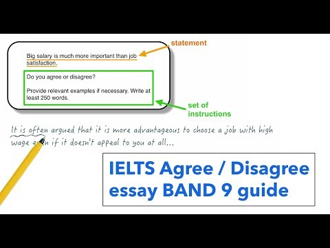 Видео Agree and disagree essay
