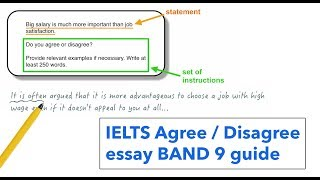 IELTS Writing task 2: agree or disagree essay thumbnail