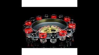 Алко-игра Пьяная рулетка на 16 рюмок обзор