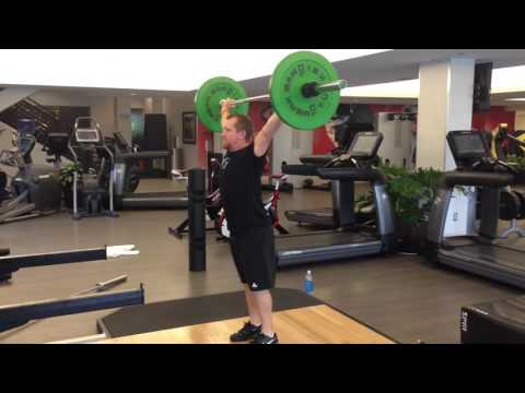 Weightlifting with ViPR - John Sinclair. Video 1