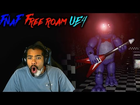 Thumbnail: FREDDY AND BONNIE ALWAYS HATIN'!! | Five Nights at Freddy's 1 [UNREAL ENGINE 4 VERSION]
