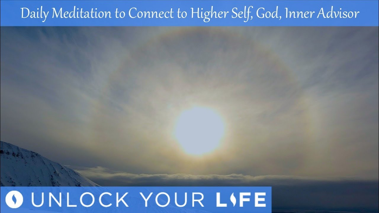Meditation and Affirmations to Connect to Higher Self (God ...