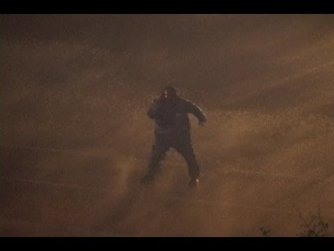 Hurricane Ivan landfall in Mobile, Alabama - September 15, 2004