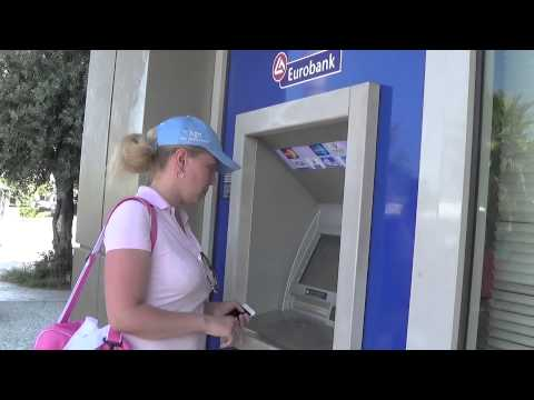 Kavas Yachting client withdraws 600 euros from Greek-bank ATM in Athens