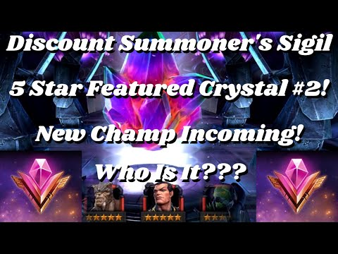 Discount Summoner's Sigil 5 Star Featured Crystal #2! New Ch