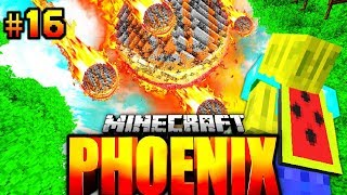 Ein METEOR SCHAUER SCHLÄGT EIN?! - Minecraft Phoenix #016 [Deutsch/HD]