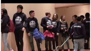 Brandon Gomez Visits 2016 College March at MELS