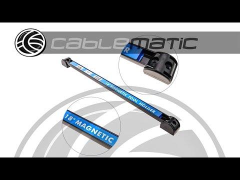 Barra magnética para la fijación de herramientas de 50 cm - distribuido por  CABLEMATIC ® 19e1d6ca35db