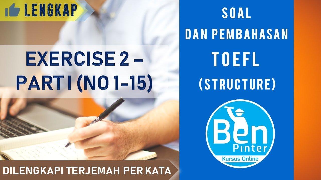 photograph regarding Toefl Exercises Printable titled Soal dan Pembahasan TOEFL (style and design) Health and fitness 2 (Nomor 1-15)