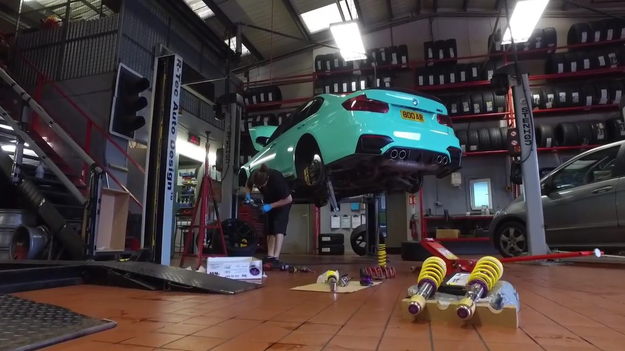 F80 M3 Lowered On Kw Variant 3 Coilovers Youtube