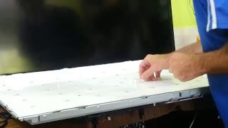 montagem tela de leds passo a passo tec draz tv