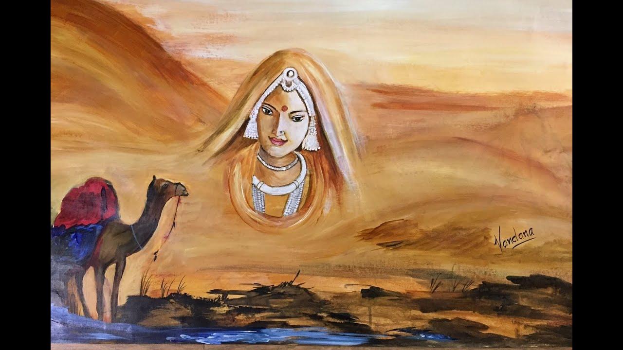 Mystic Rajasthan Painting