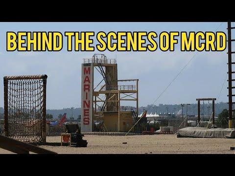 Visiting MCRD, where Marines are made!