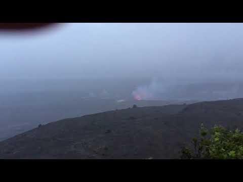 FLIR Infrared Videos of Magma at Hawaii Volcanoes National Park