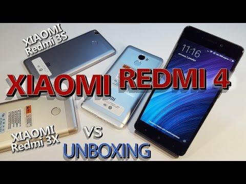 Xiaomi Redmi 4 c Aliexpress| Против Xiaomi Redmi 3S, 3X, Meizu U10. Распаковка-сравнение