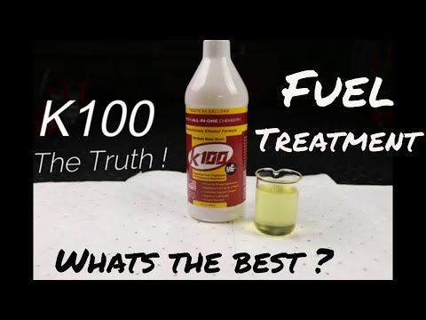 K100 Fuel Treatment ( The Truth)