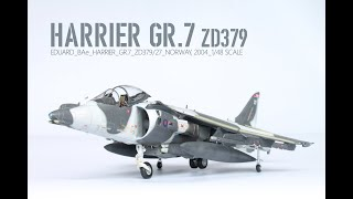 Eduard Harrier GR.7 1/48 | The Inner Nerd