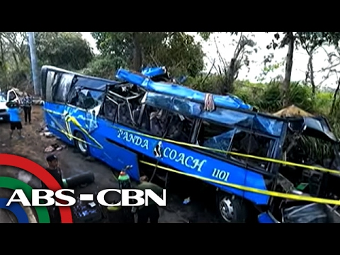 TV Patrol: Naaksidenteng bus sa Tanay, overloaded umano
