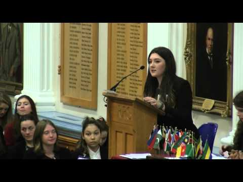 Royal Russell International Model United Nations - General Assembly - Opening Speeches