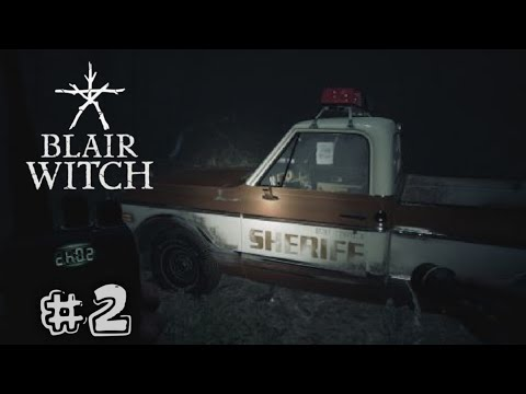BLAIR WITCH Walkthrough Gameplay - Darkness #2