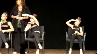 Dance Mom Girls dance to