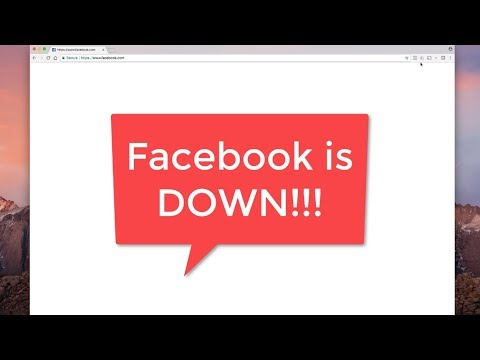 FaceBook Down and Google Business