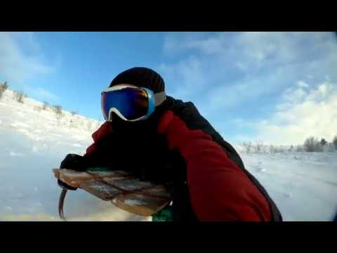 BAC MyVideo. Winter vacation Drive a sleigh from the Big Mountain. @2017.01.15@ ... \(б_б)/