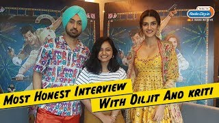 Arjun Patiala : Most Honest Interview with Diljit Dosanjh and Kriti Sanon