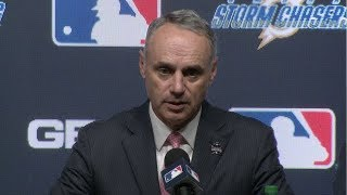 2018 College World Series - Major League Baseball Announcement